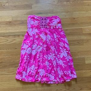Abercrombie and Fitch Strapless Dress